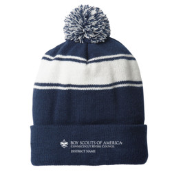 STC28 - C146-S5.0-2019 - EMB - Council District Pom Pom Beanie